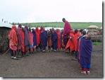 Jumping Masaï