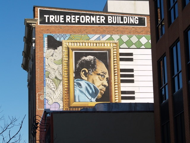 Intussen blog blog archive shaw shuffle for Duke ellington mural