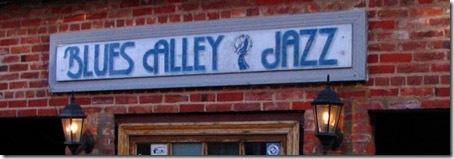 Blues Alley Entrance
