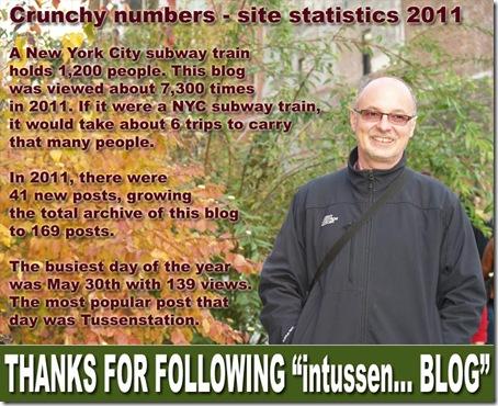 Site statistics 2011