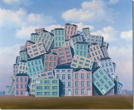 René Magritte - La Poitrine