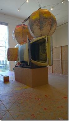 Richard Jackson - Painting with Two Balls