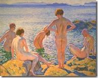 Théo van Rysselberghe - De Baadsters - 1920