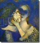Marc Chagall - De geliefden in blauw, 1914
