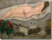 Marc Chagall - Naakt boven Vitebsk, 1933