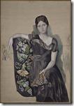 Pablo Picasso - Portrait d'Olga dans un fauteuil - 1917 - 1918