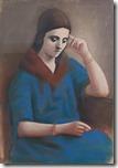 Pablo Picasso - Portrait of Olga Picasso, 1922 - 1923