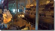 Vasa : zicht op boegspriet